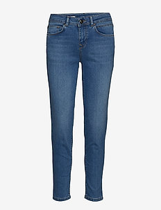 Jeans - skinny jeans - sun faded blue