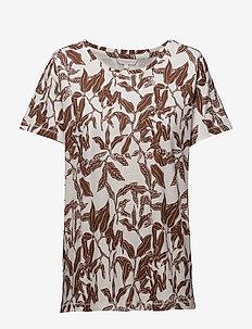 T-shirt/Top - t-shirts - tortoise brown