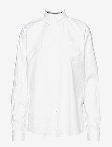 L/S Shirts - WHITE