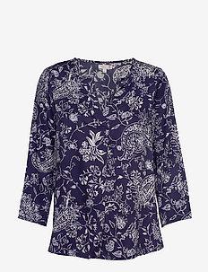 Shirts - langærmede bluser - peacoat