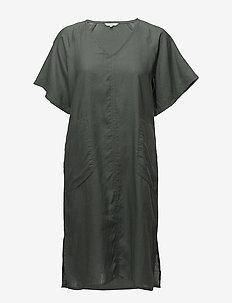 Dress - midi kjoler - balsam green
