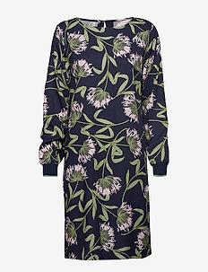 Dress - midi dresses - fair green