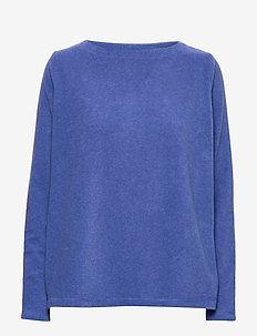 Fleece - CARBON BLUE