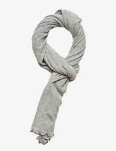 Scarves - tørklæder - light grey melange