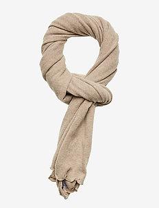 Scarves - tørklæder - sand melange