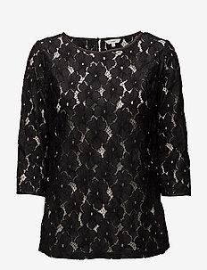 Shirts - langermede bluser - black