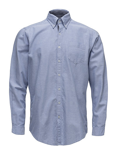 Cohen L/S Shirts - LAKE BLUE
