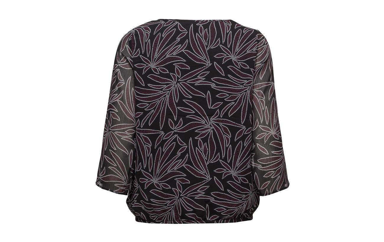 Signature Blouse 100 Dark woven Petrol Polyester wUwxRdB