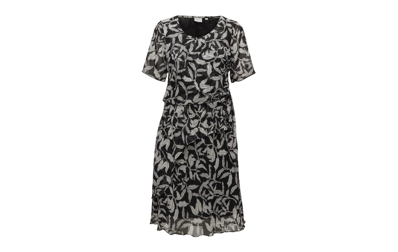 Polyester Dress Black light Woven 100 Signature XYwT4xT