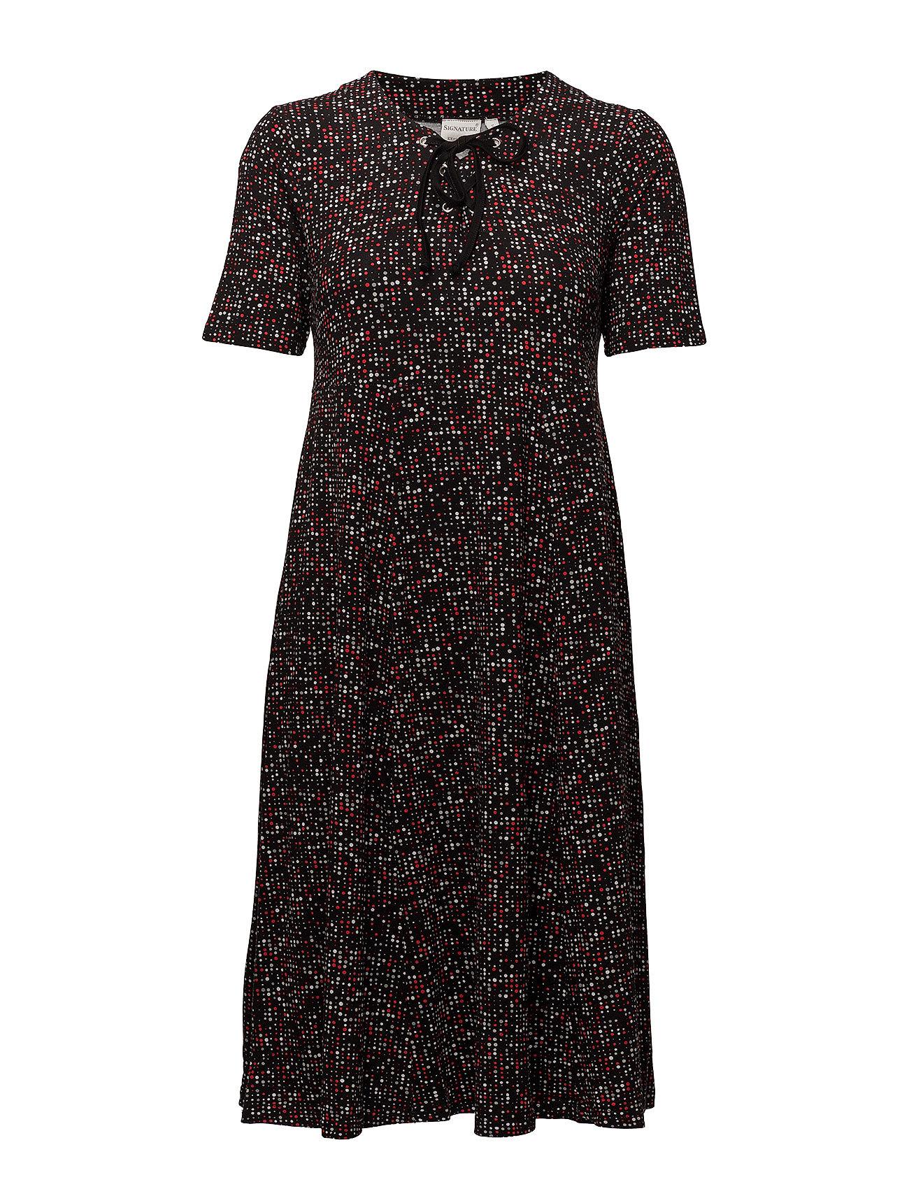36687aa2c440 Signature korte kjoler – Dress-Jersey til dame i PRIMROSE YELLOW ...