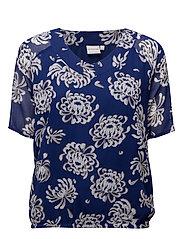 Shirt l/s Woven - DEEP BLUE