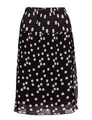 Skirt-light woven - BLACK