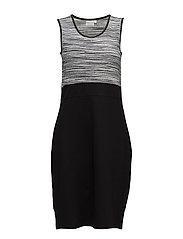 Dress-jersey - BLACK