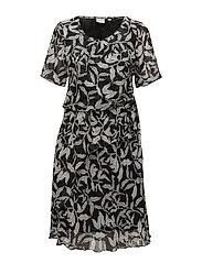 Dress-light woven - BLACK