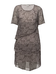 Dress-light woven - LIGHT ROSE
