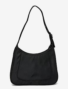 Shoulder bag Siri - top handle tasker - black