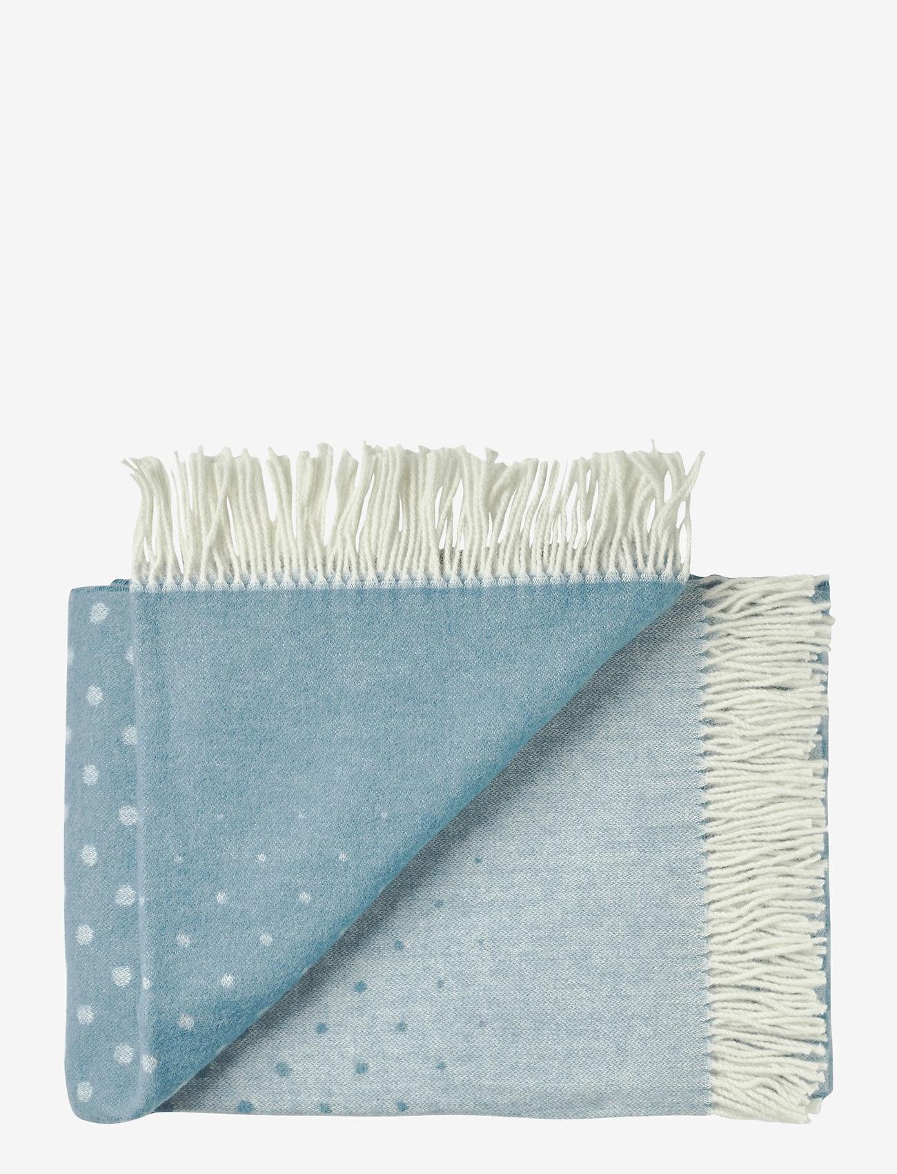 Silkeborg Uldspinderi - Barcelona 130x190 cm - blankets - 1076 light blue - 0
