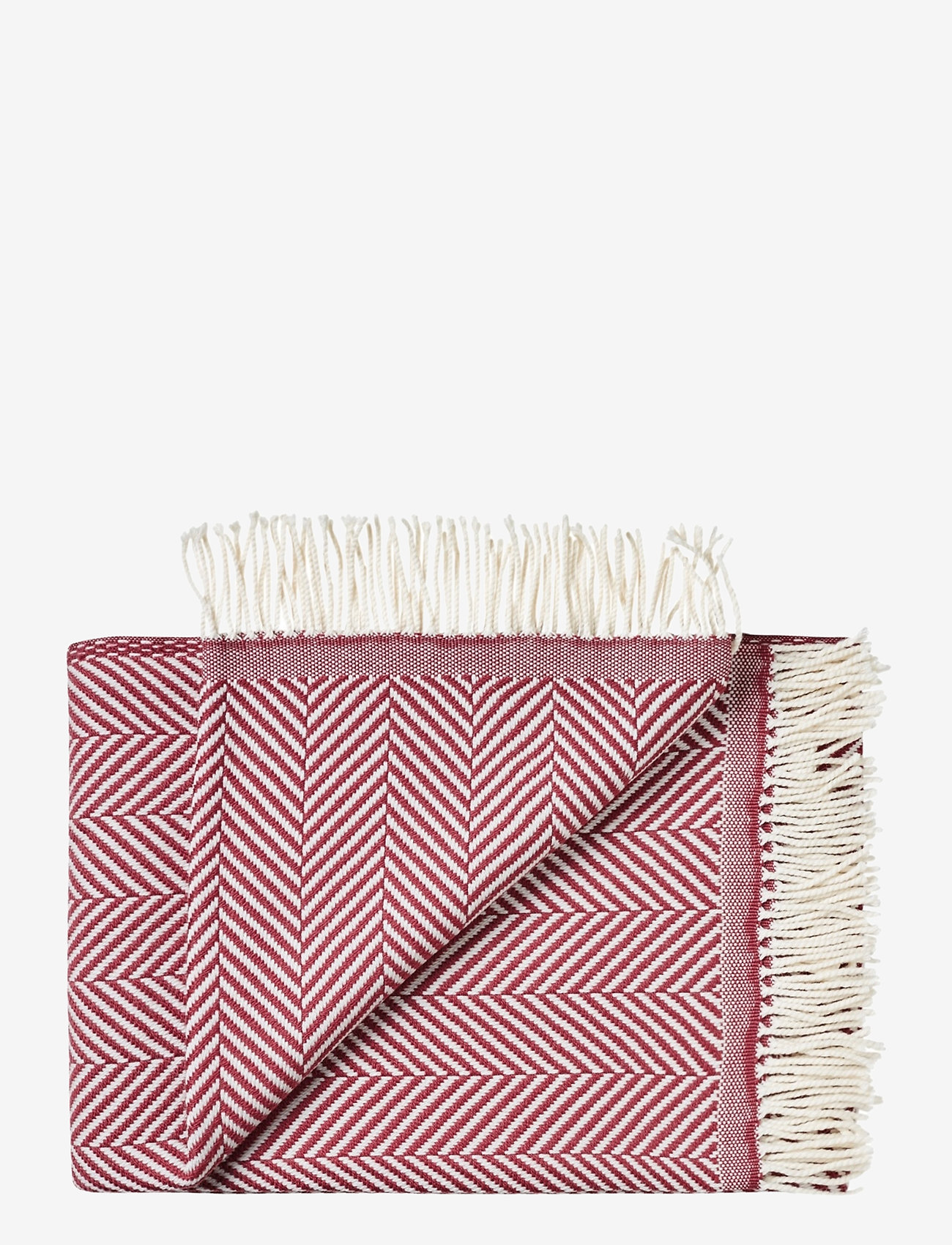 Silkeborg Uldspinderi - Bordeaux 130x190 cm - blankets - 8708 bordeaux - 0