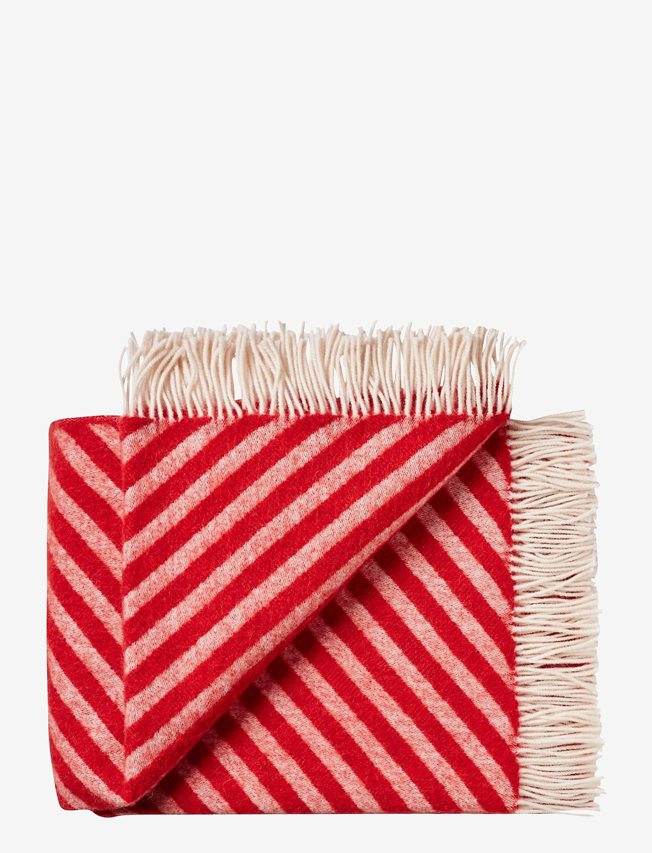 Silkeborg Uldspinderi - Campaign Straight Twill 130x190 cm - blankets - 1126 red - 0