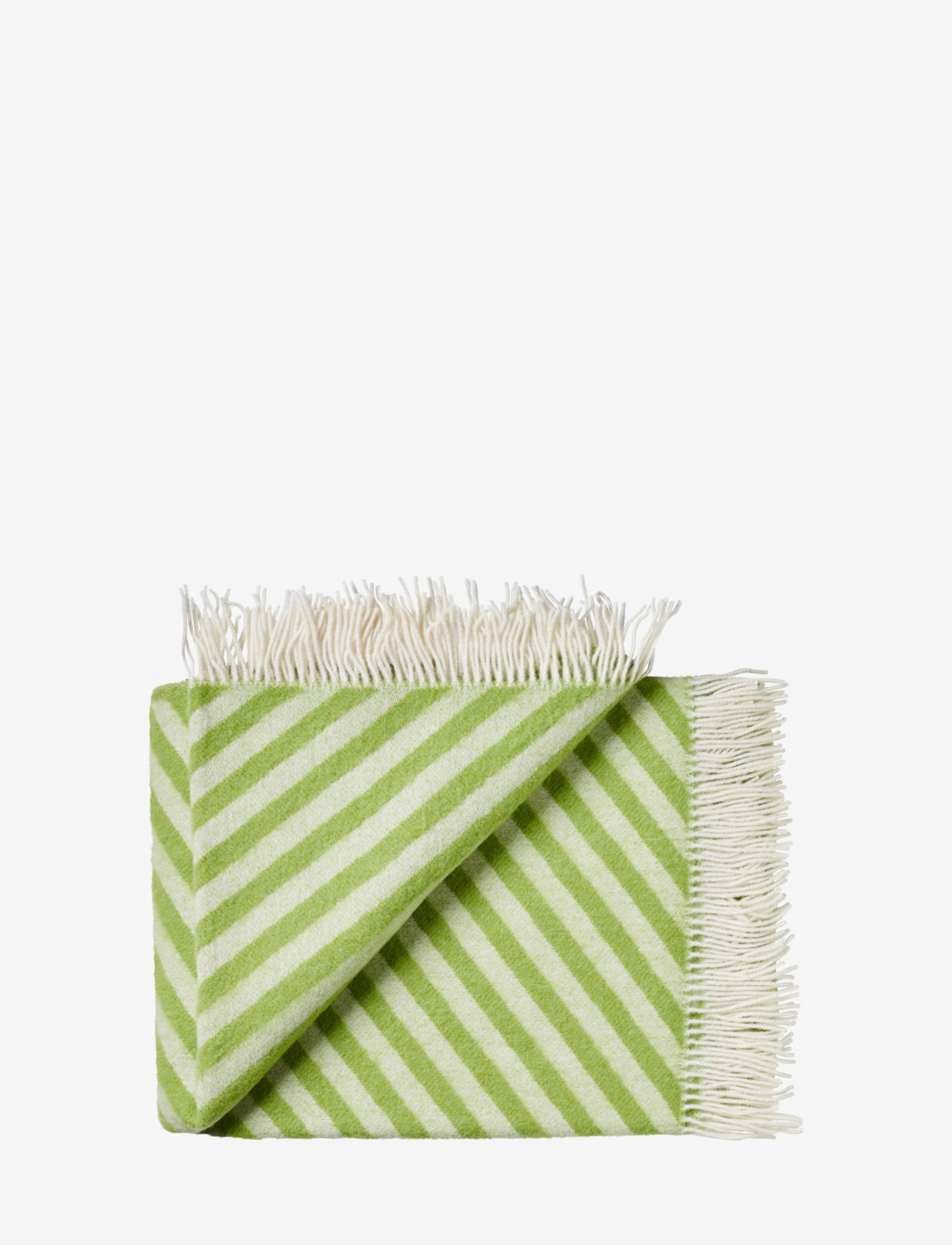 Silkeborg Uldspinderi - Campaign Straight Twill 130x190 cm - blankets - 1134 grass green - 0