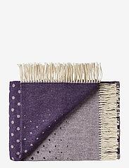 Silkeborg Uldspinderi - Barcelona 130x190 cm - blankets - 1079 purple - 0