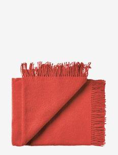 Athen 130x200 cm - dekens - 4604 coral red