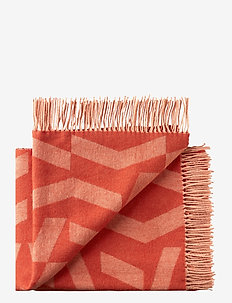 Dashes 130x190 cm - blankets - 8206 orange rose