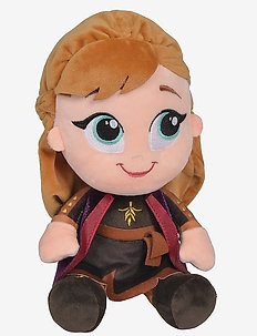 Frozen 2 - Chunky Anna, 25cm - soft toys - brown