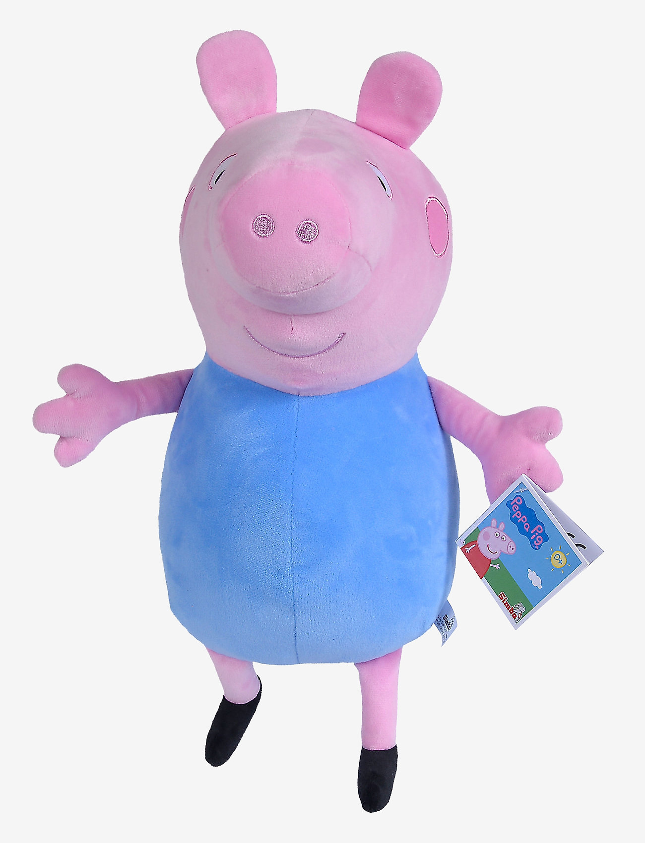 Peppa Pig - Peppa Pig Plush George, 31cm - soft toys - blue - 1
