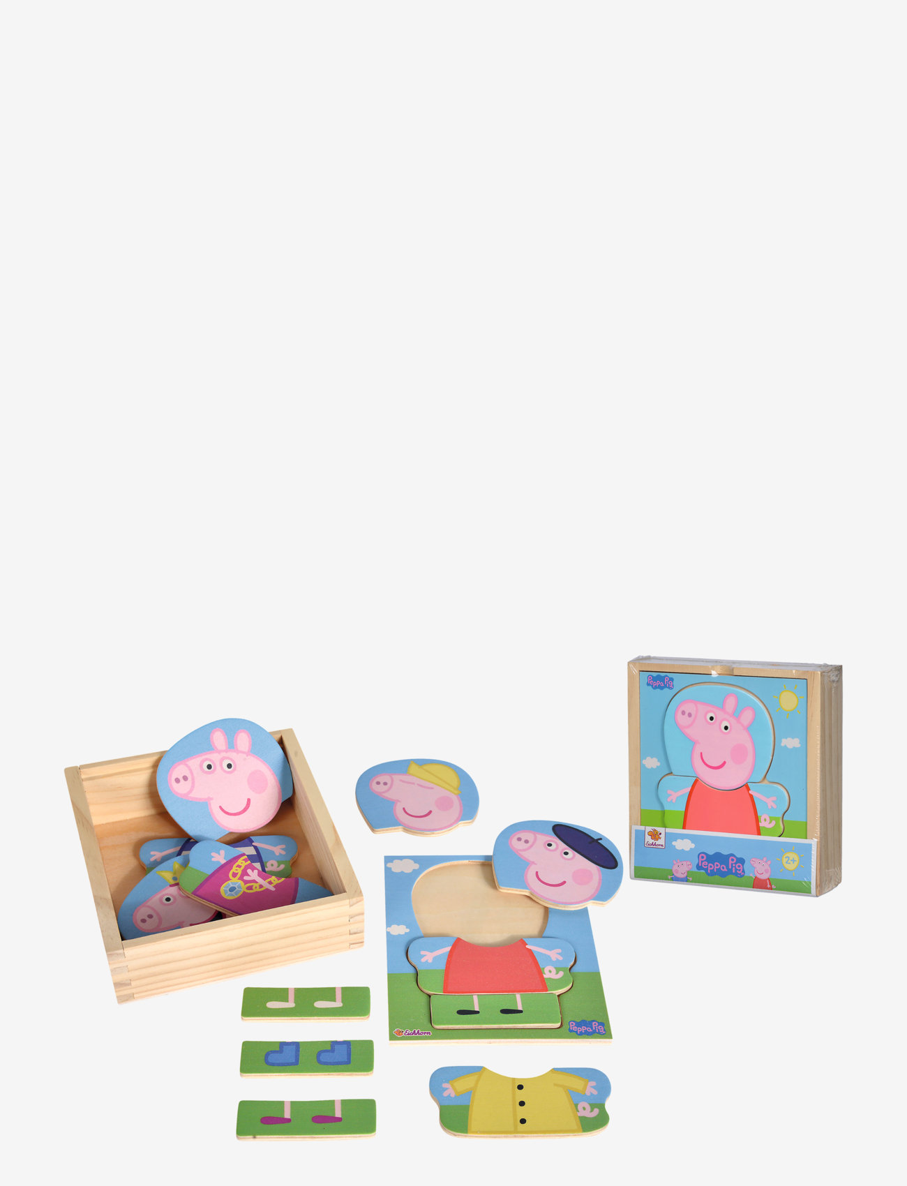 Peppa Pig - Peppa Pig Dress Up Puzzle - puzzles & games - pink - 1