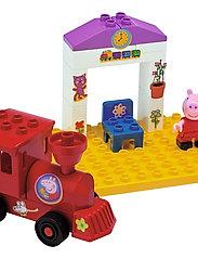 Peppa Pig - PlayBIG BLOXX PEPPA TRAIN STOP - building sets & blocks - pink - 1
