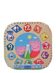 Peppa Pig, Teaching Clock - PINK