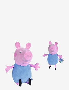 Peppa Pig Plush George, 31cm - soft toys - blue