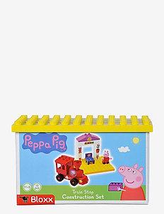 PlayBIG BLOXX PEPPA TRAIN STOP - klossar & byggsatser - pink