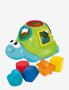 ABC - Floating Turtle Shape Sorter - baby toys - multi coloured