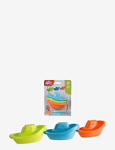 ABC - Bathing Boats - baby legetøj - multi coloured