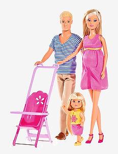 Steffi Love - Happy Family - dolls - multi coloured
