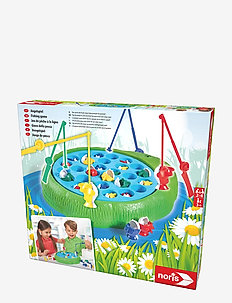 Fishing Game 28 fishes - puzzles & games - green