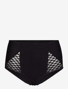 SUBTILE 19Y - bikinihosen mit hoher taille - black 015