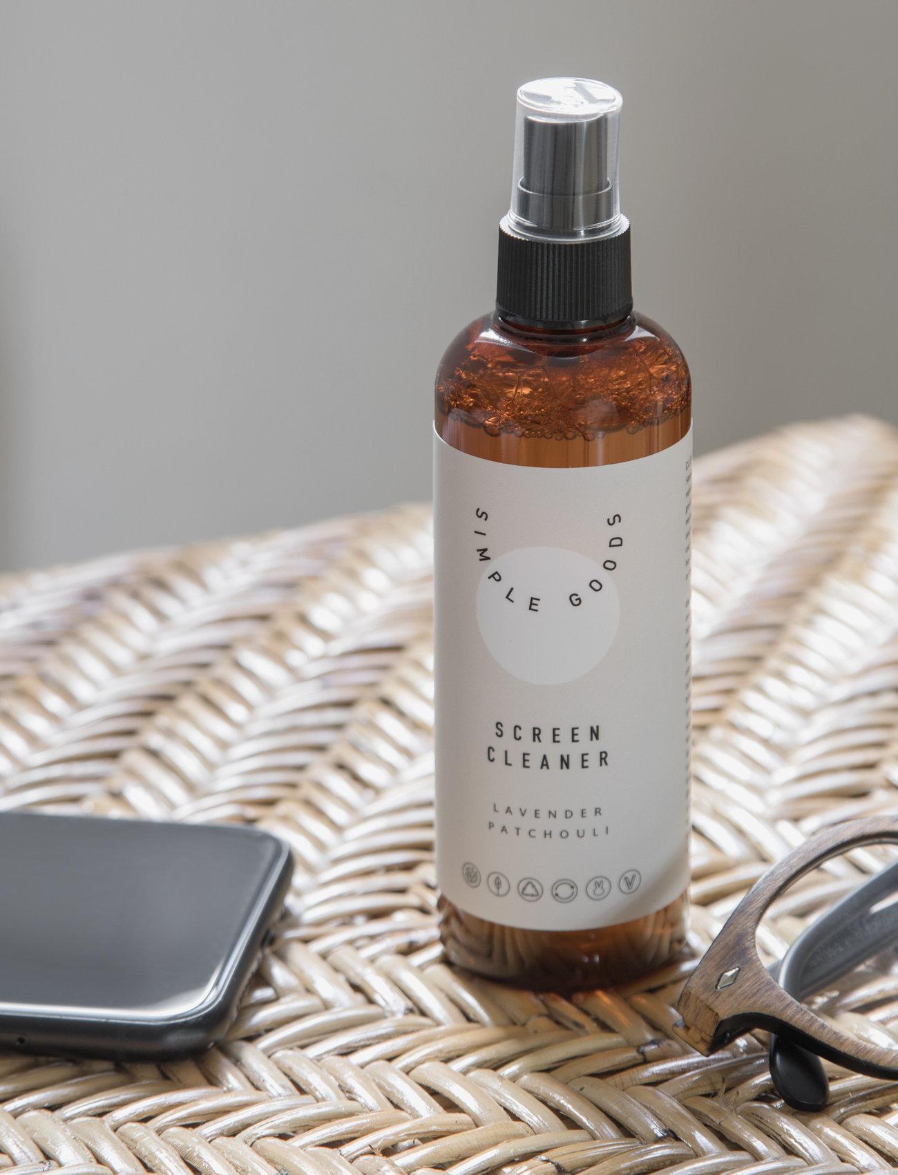 Simple Goods - Screen Cleaner, Lavender, Pacthouli - Övrigt diskning & städning - clear - 1