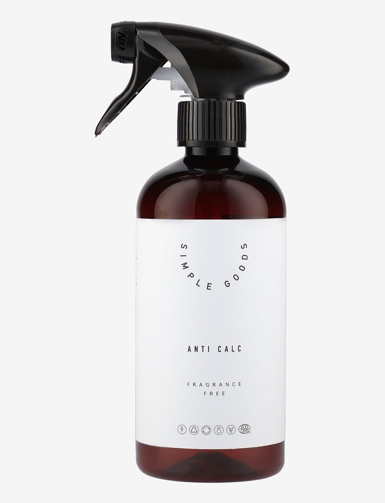 Simple Goods - Anti Calc, Fragrance Free - Övrigt diskning & städning - clear - 0