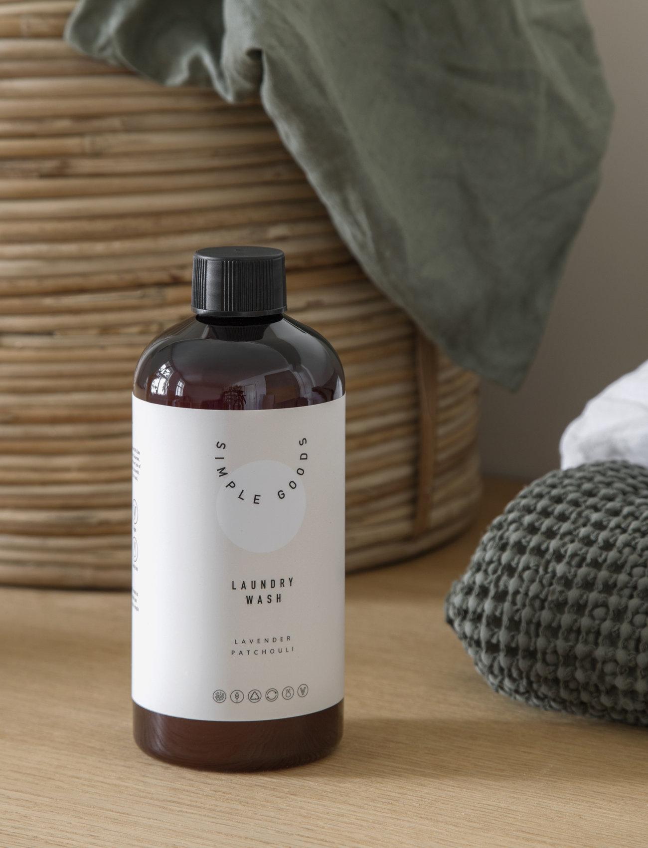 Simple Goods - Laundry Wash, Lavender, Paatchouli - Övrigt diskning & städning - clear - 1