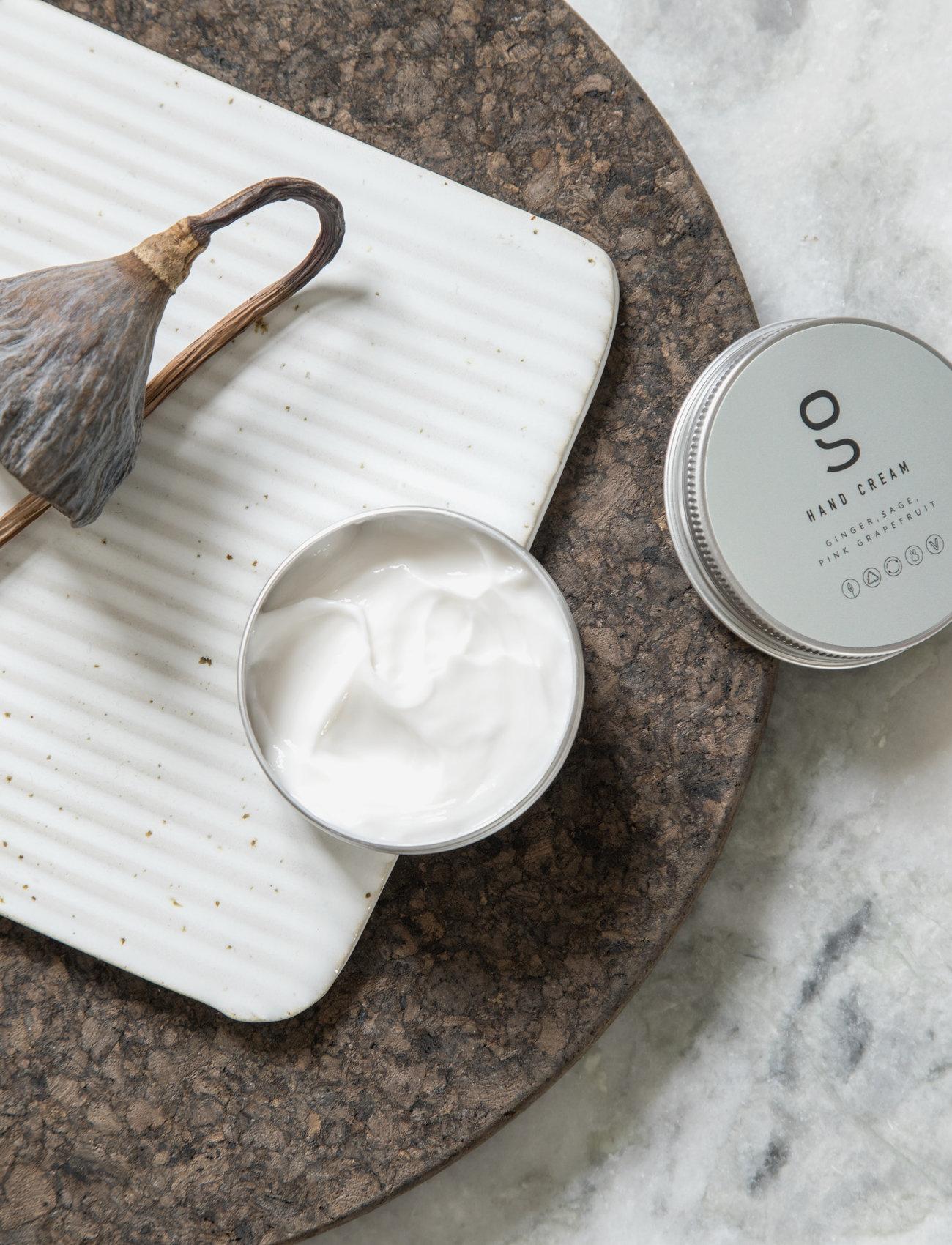 Simple Goods - Hand Cream, Ginger, Sage, Pink Grapefruit, 60 ml - handkräm & fotkräm - clear - 1