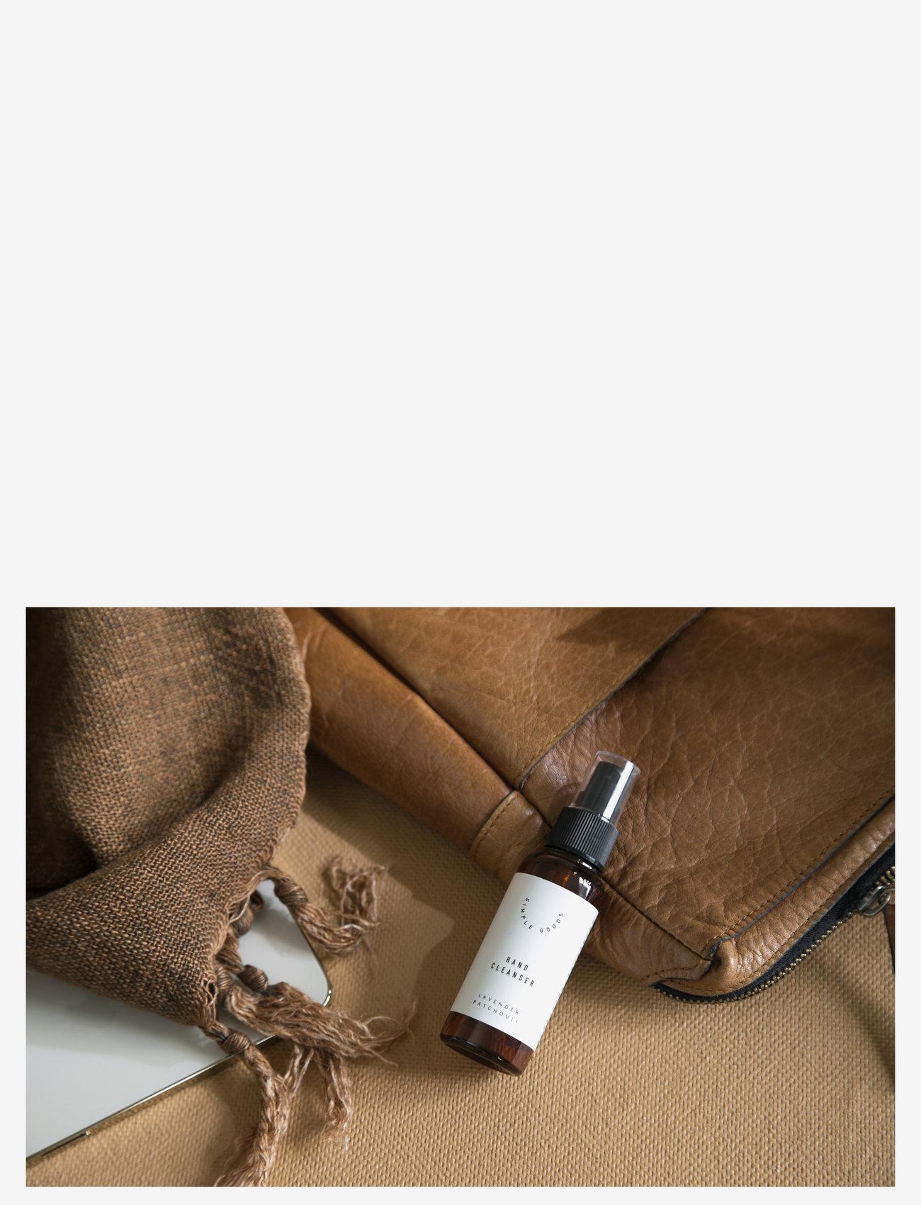 Simple Goods - Hand Cleanser, Lavender, 50 ml - kroppsvård - clear - 1