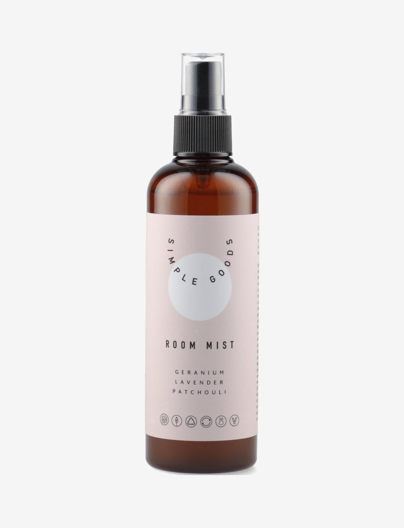 Simple Goods - Room Mist, Geranium - Övrigt diskning & städning - clear - 0
