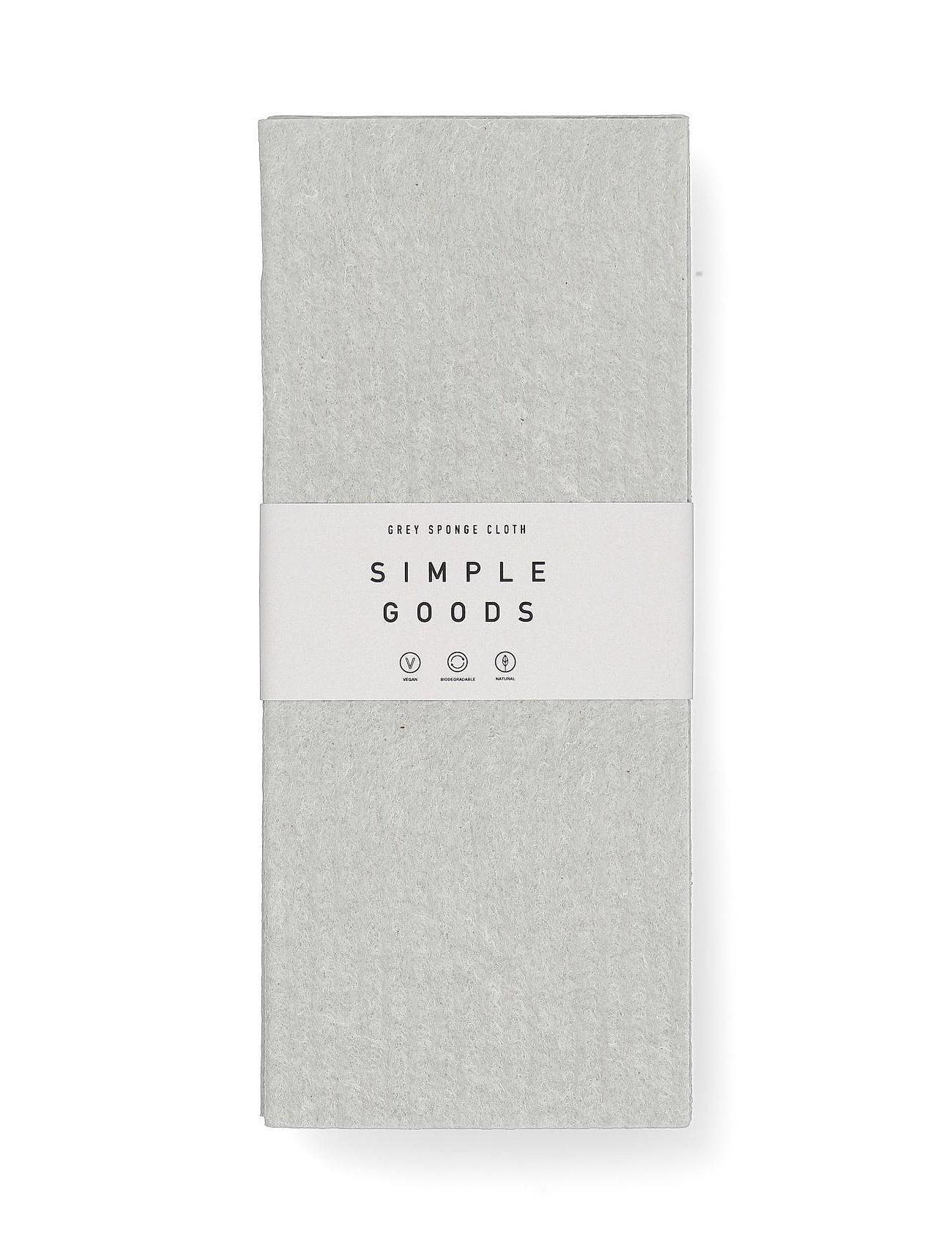 Simple Goods - Sponge Cloth Grey - disktrasor & diskborstar - grey - 1