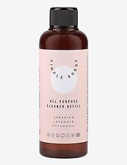 Simple Goods - Refill All Purpose Cleaner, Geranium, Lavender, Patchouli - Övrigt diskning & städning - clear - 0