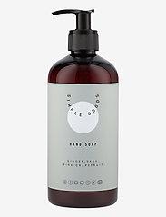 Simple Goods - Hand Soap, Ginger, Sage, Pink Grapefruit - handtvål - clear - 0