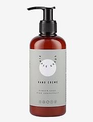 Simple Goods - Hand Cream, Ginger, Sage, Pink Grapefruit, 250 ml - handkräm & fotkräm - clear - 1