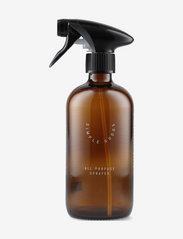 Simple Goods - Empty Glass Bottle, All Purpose - diskmedel - brown - 0